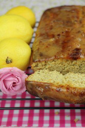 Gluten free Juicy lemon cake